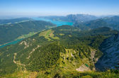 The Attersee in Austria — Stock Photo