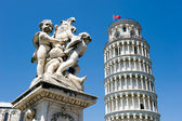 Leaning tower of Pisa — Stock fotografie