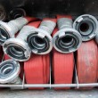 Stock Photo: Firehoses