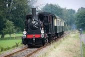 Old steam train — Foto Stock