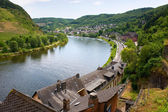 The city of Cochem on the banks of the river mosel — Stock fotografie