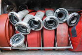 Firehoses — Stock Photo