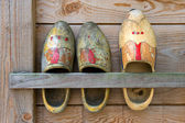 Wooden shoes — Stockfoto