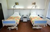 Hospitalbeds — Stock Photo