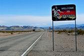 Nevada border — Stock Photo
