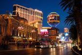 The strip in Las Vegas — Stock Photo