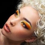Face make-up — Stock Photo