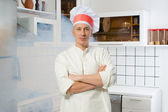 Man in the kitchen — Stock Photo
