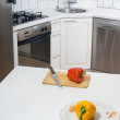 Stock Photo: Kitchen detail