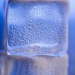 Ice cube surface — Stock Photo