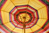 Umbrellas made of silk. — Stock Photo