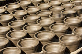 Pottery in thailand — Stock Photo