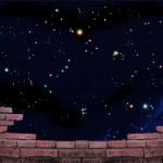 Stars view — Stock Photo