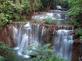 Huay Mae Kamin Waterfall — Stock Photo