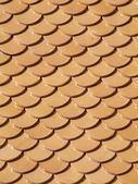 Tidiness roof — Stock Photo