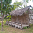 Stock Photo: Old dilapidated hut