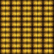 Golden grunge mosaic — Stock Photo