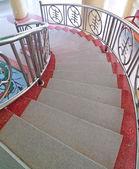 Marble staircase — Stock Photo