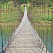 Rope bridge - Stock Photo