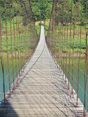 Provazový most — Stock fotografie