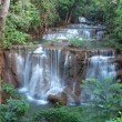 Huay Mae Kamin Waterfall - Stock Photo