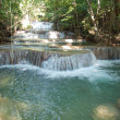 Foto de Stock  : Huay Mae Kamin Waterfall
