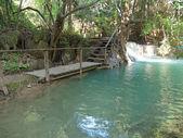 瀑布池 — 图库照片