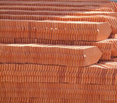 Stack of roof tile — Stock Photo