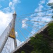 Part of Bhumibol Bridge — Stock Photo #10415413