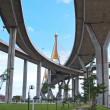 Part of Bhumibol Bridge — Stock Photo #10415440