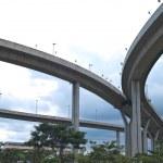 Part of Bhumibol Bridge — Stock Photo #10415687