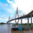 Stock Photo: Part of Bhumibol Bridge