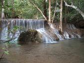 清迈湄卡米瀑布 — 图库照片