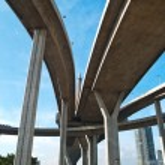 Part of Bhumibol Bridge — Stock Photo #10496080