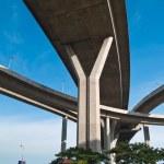Part of Bhumibol Bridge — Stock Photo #10496097