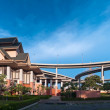 Stock Photo: Panoramof Museum of Industrial Ring Road Bridge