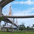 Part of Bhumibol Bridge - Photo
