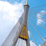 Part of Bhumibol Bridge — Stock Photo #10498052
