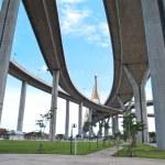 Part of Bhumibol Bridge — Stock Photo #10498060