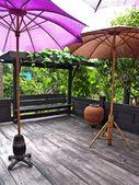 Vintage terrace — 图库照片