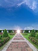 Paradise garden — Stock Photo