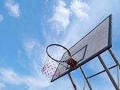 グランジ バスケット ボール バスケット — ストック写真