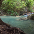Erawan waterfall - Foto Stock