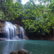 Erawan waterfall - Stock Photo