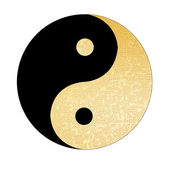 Ying-Yang symbol — Stock Photo
