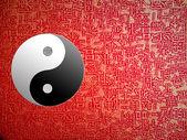 Símbolo del Yin y el yang — Foto de Stock
