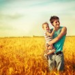 Stock Photo: Fatherly love