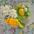 Stock Photo: Easter still-life