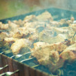 Stock Photo: Shish kebab,