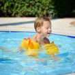 Pleasure in the pool — Stock Photo #9824364